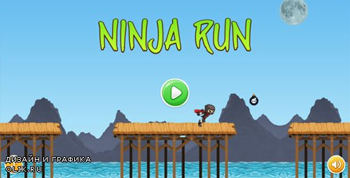 CodeCanyon - Ninja Run - HTML5 Mobile Game (Capx) (Update: 12 October 15) - 12844875