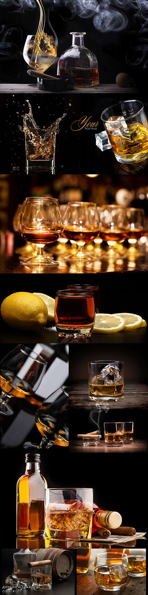 Strong drinks - Brandy and whiskey
