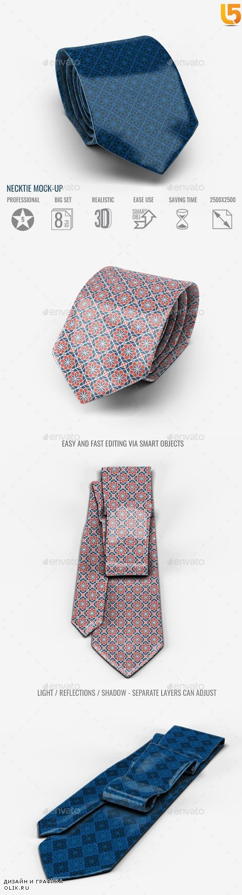 Necktie Mock-Up 20413212