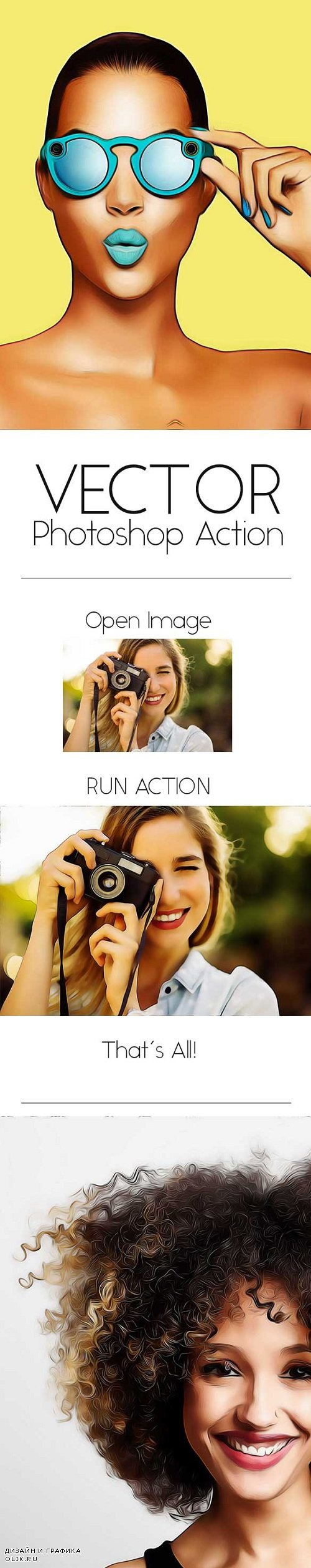 Vector Photoshop Action 20330197