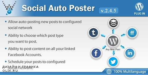 CodeCanyon - Social Auto Poster v2.4.5 - WordPress Plugin - 5754169