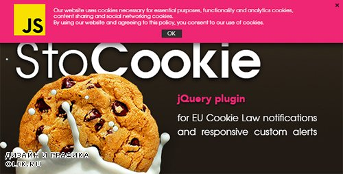 CodeCanyon - StoCookie jQuery plugin v1.1 - Cookie Law Compliance and Custom Notifications - 18766371