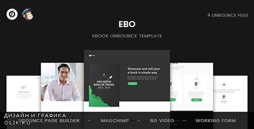 ThemeForest - Ebo v1.0 - Ebook Unbounce Template - 19602739