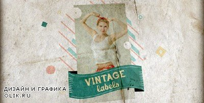 Vintage Labels 3 files - Project for AFEFS (Videohive)