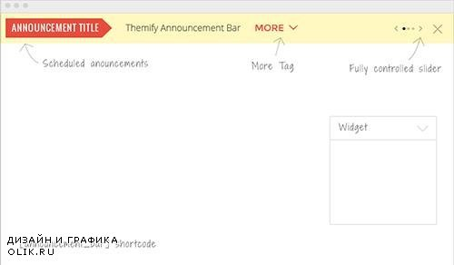 Themify - Announcement Bar v1.2.5 - WordPress Plugin