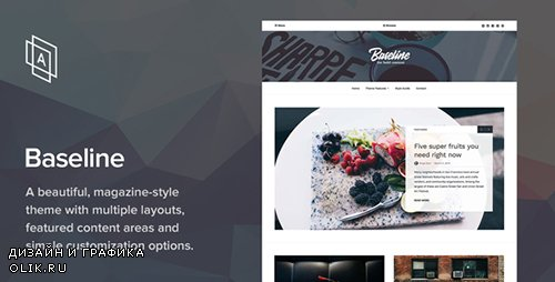 ThemeForest - Baseline v1.2.5 - Magazine WordPress Theme - 16046635