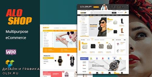 ThemeForest - Alo Shop v2.2 - Mega Market RTL Responsive WooCommerce WordPress Theme - 15794807
