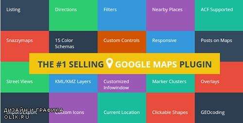 CodeCanyon - Advanced Google Maps Plugin for Wordpress v4.0.2 - 5211638