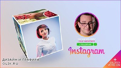 Instagram Promo Cube Gallery - Project for AFEFS (Videohive)