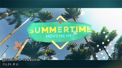 Summertime Movements - Bright Opener - Project for AFEFS (Videohive)