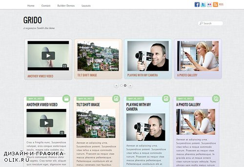 Themify - Grido v1.9.5 - WordPress Theme