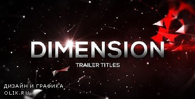 Dimension Trailer Titles - Project for AFEFS (Videohive)