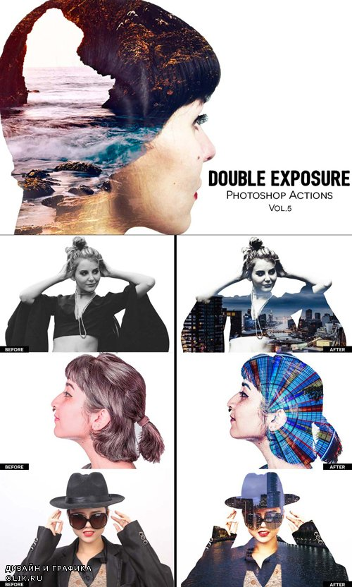 Double Exposure PHSP Action Vol.5