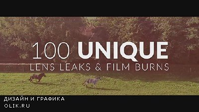 4K Lens Leak Pro 100 Custom Elements Pack - MOTION GRAPHIC (TOLERATED CINEMATICS)