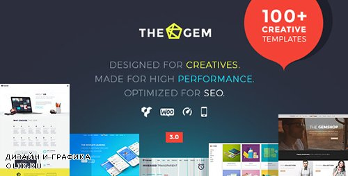 ThemeForest - TheGem v3.0.1 - Creative Multi-Purpose High-Performance WordPress Theme - 16061685 -