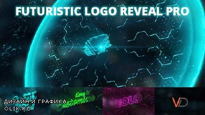 Futuristic Energy Logo Reveal PRO - Project for After Effects (Videohive)