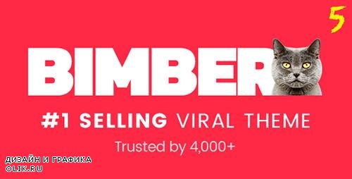 ThemeForest - Bimber v5.1 - Viral Magazine WordPress Theme - 14493994 -