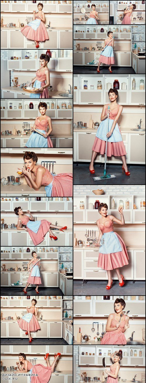 Pin Up Housewife - 15 HQ Images