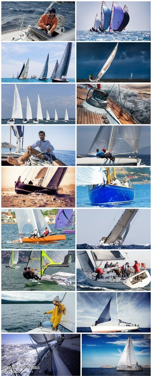 Sailing Extreme Yacht Race - 20 HQ Images