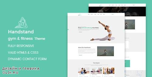 ThemeForest - Handstand v1.0.0 - Gym & Fitness WordPress Theme - 20566434