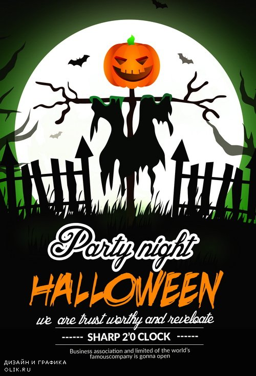 Halloween Day Flyer Templates 1919641