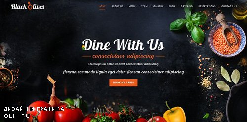 ThemeForest - Blackolive v1.1 - Restaurant One Page HTML - 19363306