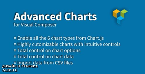 CodeCanyon - Advanced Charts Add-on for Visual Composer v1.2.1 - 19237508