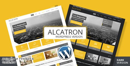 ThemeForest - Alcatron v1.5.1 - Multipurpose Responsive WP Theme - 5046308