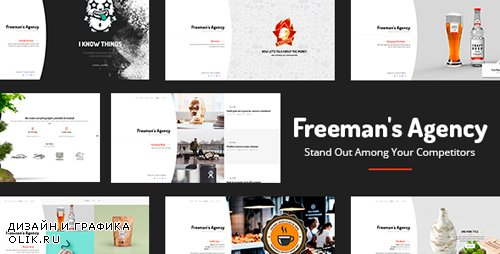 ThemeForest - Freeman v1.0.4 - Exclusive Portfolio & Agency WordPress Theme - 19587240