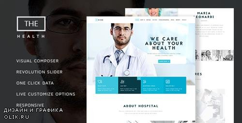 ThemeForest - The Hospital v1.6 - One and Multi Page Health Theme - 13594391