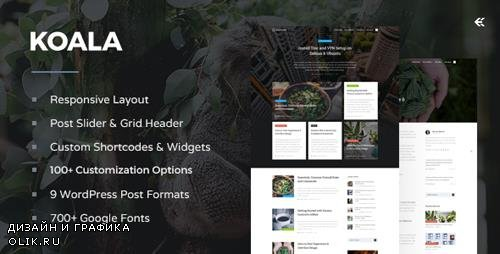 ThemeForest - Koala v3.1.0 - Responsive WordPress Blog Theme - 12643667