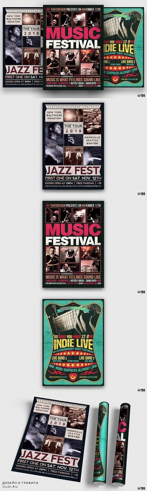 Concert Flyer Bundle V1 2043391