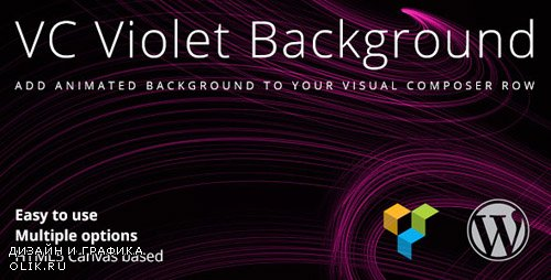 CodeCanyon - VC Violet Background v1.1.1 - 13392576