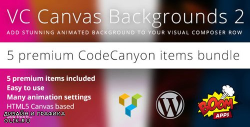 CodeCanyon - VC Canvas Backgrounds Bundle 2 (Update: 8 March 16) - 14231802