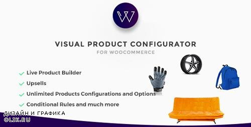 CodeCanyon - Woocommerce Visual Products Configurator v3.6 - Customize and Configure any Product Visually - 9058551