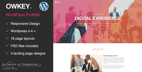 ThemeForest - Owkey v1.0 - Multi-Concept WordPress Theme - 19859195