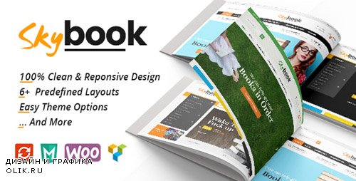 ThemeForest - VG Skybook v1.1 - WooCommerce Theme For Book Store - 19710474