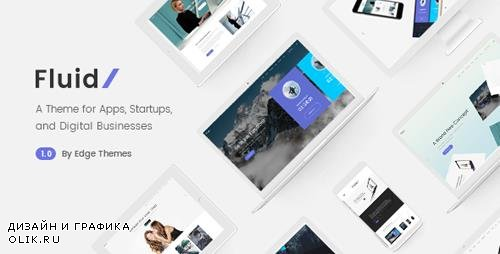 ThemeForest - Fluid v1.2 - A Theme for Apps, Startups, and Digital Businesses - 19445780