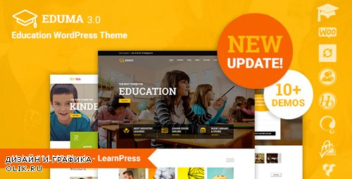 ThemeForest - Eduma v3.1.9.1 - Education WordPress Theme - Education WP - 14058034 - NULLED