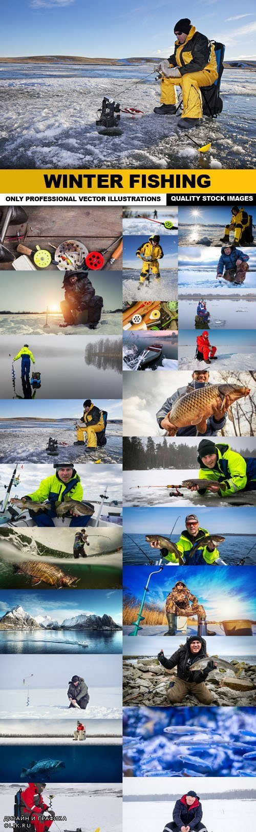 Winter Fishing - 25 HQ Images