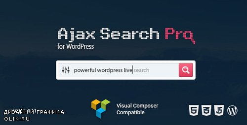 CodeCanyon - Ajax Search Pro v4.11.9 - Live WordPress Search & Filter Plugin - 3357410