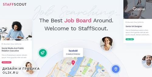 ThemeForest - StaffScout v1.0 - A Powerful Job Board Theme - 21088547