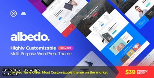 ThemeForest - Albedo v1.0.14 - Highly Customizable Multi-Purpose WordPress Theme - 20386924