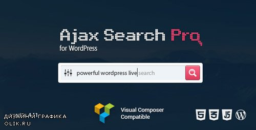 CodeCanyon - Ajax Search Pro v4.11.10 - Live WordPress Search & Filter Plugin - 3357410