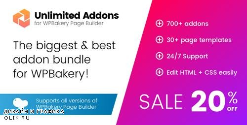 CodeCanyon - Unlimited Addons for WPBakery Page Builder (Visual Composer) v1.0.24 - 19602316