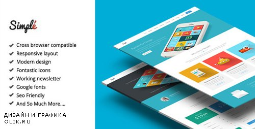 ThemeForest - Simple v2.4 - Responsive Landing Page Template (Update: 1 July 15) - 8931163