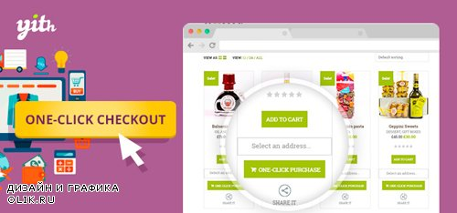 YiThemes - YITH WooCommerce One-Click Checkout v1.3.0