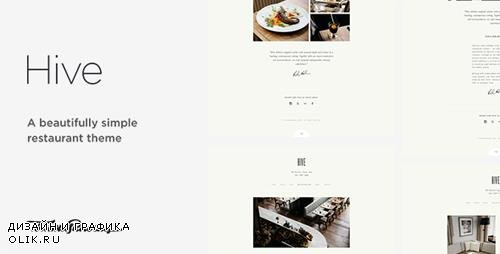 ThemeForest - Hive v1.0.0 - Restaurant & Cafe WordPress Theme - 17013332