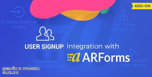 CodeCanyon - User Signup for Arforms v1.6 - 8329487