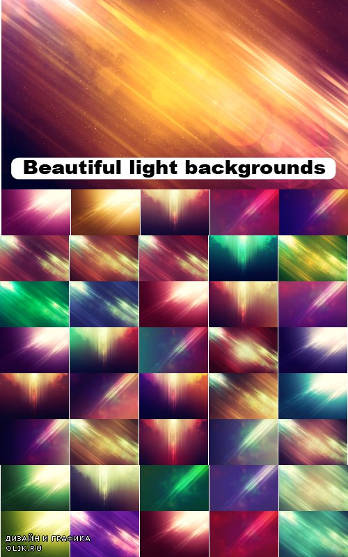 Beautiful light backgrounds